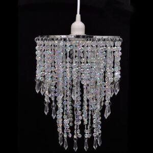 Candelabro pendente cristal tradicional 22,5 x 30,5 cm - PORTES GRÁTIS