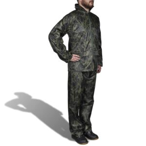 Terno de chuva camuflagem XL - PORTES GRÁTIS