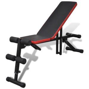 Banco musculação ajustável múltiplas posições  - PORTES GRÁTIS
