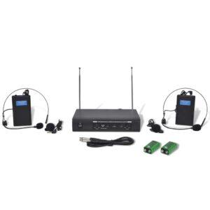 Receptor com fones sem fio VHF - PORTES GRÁTIS