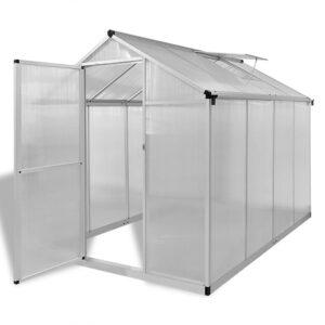 Estufa reforçada em alumínio, com base embutida 4,6 m²  - PORTES GRÁTIS