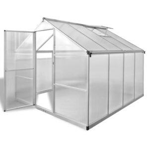 Estufa reforçada em alumínio, com base embutida 6,05 m²  - PORTES GRÁTIS