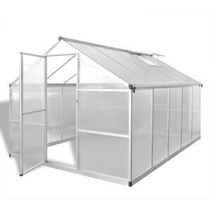 Estufa reforçada em alumínio, com base embutida 7,55 m²  - PORTES GRÁTIS