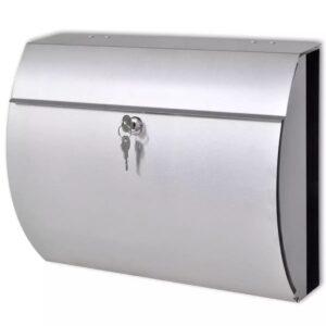 Caixa de correio em aço inoxidável - PORTES GRÁTIS