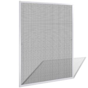 Tela de insectos para janelas - branca 100 x 120 cm - PORTES GRÁTIS
