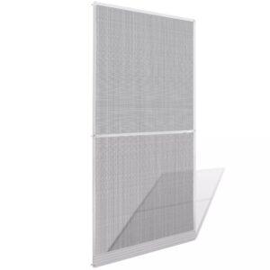 Rede suspensa, de insetos, para porta, em branco, 100 x 215 cm - PORTES GRÁTIS