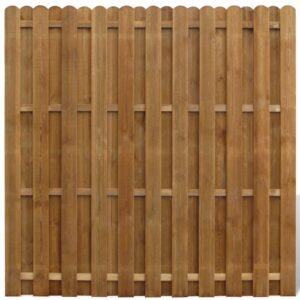 Painel de vedação em madeira de pinho FSC 180x180 cm - PORTES GRÁTIS