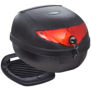 Caixa para motocicleta, para capacete, individual, 36 L - PORTES GRÁTIS
