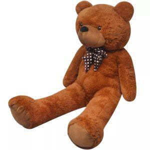 Urso de peluche XXL castanho 100 cm - PORTES GRÁTIS