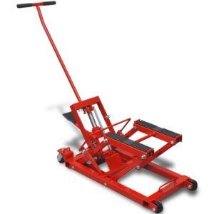 Motocicleta hidráulica/ ATV Jack 680 kg, vermelho - PORTES GRÁTIS