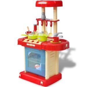 Cozinha brinquedo com luzes e efeitos sonoros para crianças - PORTES GRÁTIS