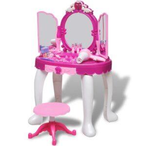 Toucador brinquedo com 3 espelhos e luz/som - PORTES GRÁTIS