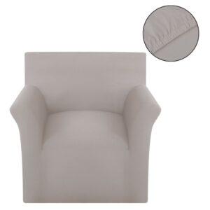 Capa para sofá jérsei algodão bege - PORTES GRÁTIS