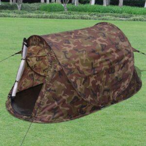 Tenda camuflagem pop-up para 2 pessoas - PORTES GRÁTIS