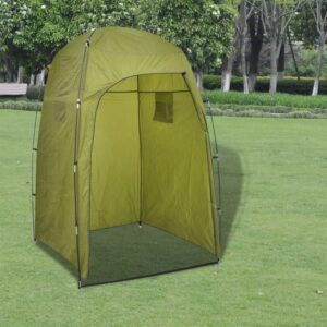 Tenda WC/chuveiro/vestiário, verde - PORTES GRÁTIS