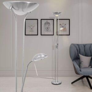 Luminária de piso regulável com LED 23W - PORTES GRÁTIS