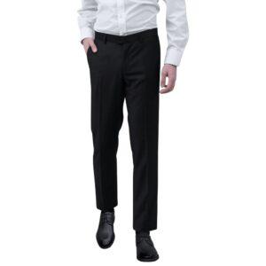 Calças para homem tamanho 50 preto - PORTES GRÁTIS
