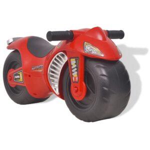 Mota de passeio ride-on, plástico, vermelha - PORTES GRÁTIS