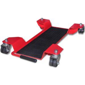 Suporte de transporte/arrumação para moto vermelho - PORTES GRÁTIS