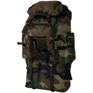 Mochila estilo camuflagem do exército XXL 100 L - PORTES GRÁTIS
