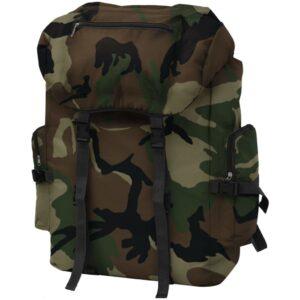 Mochila estilo camuflagem do exército 65 L - PORTES GRÁTIS