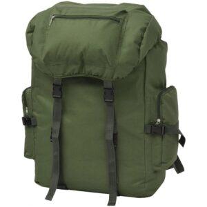 Mochila estilo exército 65 L verde - PORTES GRÁTIS