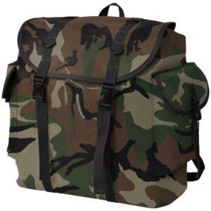 Mochila estilo camuflagem do exército 40 L - PORTES GRÁTIS