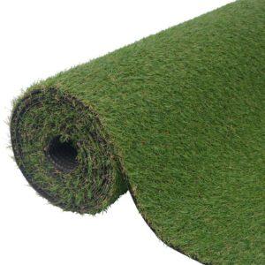Relva artificial 1x8 m/20-25 mm verde - PORTES GRÁTIS