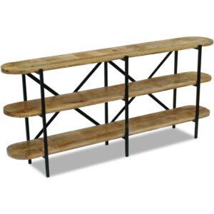 Aparador madeira de mangueira 180x30x76 cm - PORTES GRÁTIS