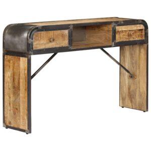 Aparador 120x30x75 cm madeira de mangueira maciça - PORTES GRÁTIS