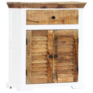 Aparador 65x30x75 cm madeira de mangueira maciça  - PORTES GRÁTIS