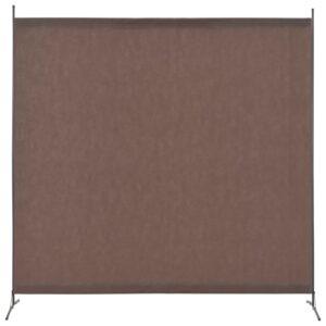 Divisória de quarto com 1 painel 175x180 cm castanho - PORTES GRÁTIS