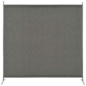 Divisória de quarto com 1 painel 175x180 cm antracite - PORTES GRÁTIS