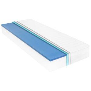 Colchão 100x200 cm espuma viscoelástica c/ memória 18 cm - PORTES GRÁTIS