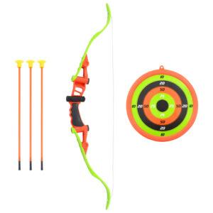 5 pcs conjunto tiro com arco para crianças 68 cm  - PORTES GRÁTIS