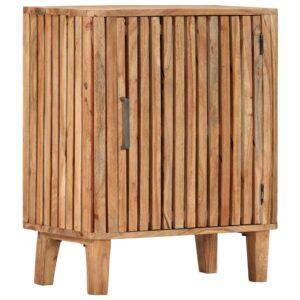 Aparador 60x35x73 cm madeira de acácia maciça - PORTES GRÁTIS