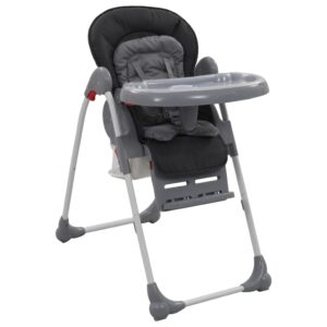 Cadeira de refeição para bebé cinzento   - PORTES GRÁTIS