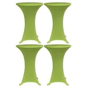 Capa extensível para mesa 4 pcs 60 cm verde - PORTES GRÁTIS
