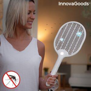 Raquete Anti-Insetos Recarregável com LED Rackill