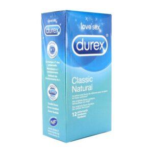 12 Preservativos Natural Clássico Durex