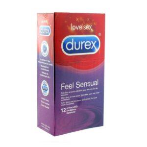 12 Preservativos Feel Sensual Durex