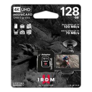 Cartão de Memória Micro SD com Adaptador GoodRam M3AA 128 GB