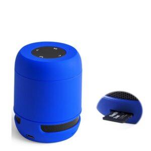 Altifalante Bluetooth - Cartões de Memória - Bateria de lítio Recarregável 3W USB Azul