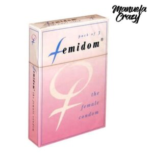 3 Preservativos Femininos Femidom Manuela Crazy