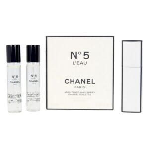 Perfume Mulher Nº 5 Twist & Spray Refill Chanel EDT (3 x 7 ml)