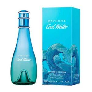 Perfume Mulher Cool Watter Summer 19 Davidoff EDT (100 ml)