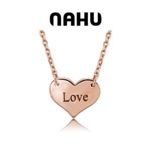 Colar Nahu Prata 925® NAN-HEART-GV-R