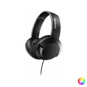 Auscultadores com microfone Philips SHL3175/00 BASS+ 40 mW (3.5 mm) Preto