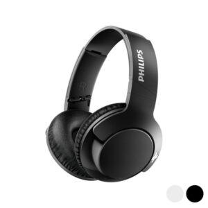 Auscultadores de Diadema Dobráveis com Bluetooth Philips SHB-3175/00 USB BASS+ 40 mW Preto