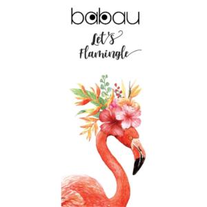 Toalha de Praia Let's Flamingle | 170 x 90cm